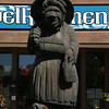 Sweet Swill Troll<br /> The Mount Horeb area is known as the Troll capital of the world.  It was first settled by a large troll believing Norwegian population in the late 1800's.  Many sculptures of trolls can be seen along the Trollway, enticing visitors to stop, shop and celebrate the town's heritage.<br /> <br /> Mount Horeb, Wisconsin - 09.15.13<br /> Credit: Jonathan Grassi