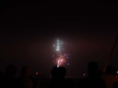 Fireworks - not the best shots