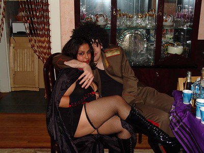 Gene with his mistress