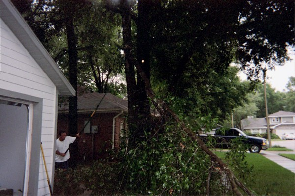 Hurricane Charlie Damage