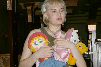Vanessa and toys