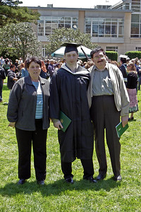 Leo with parents