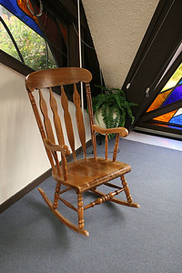 Rocking chair for those who need