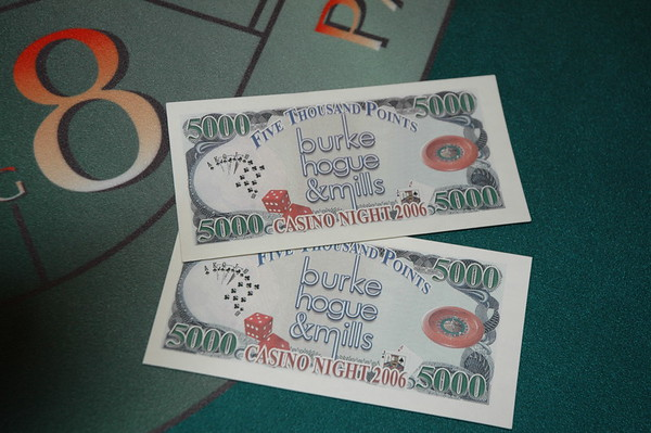 BHM Casino Night