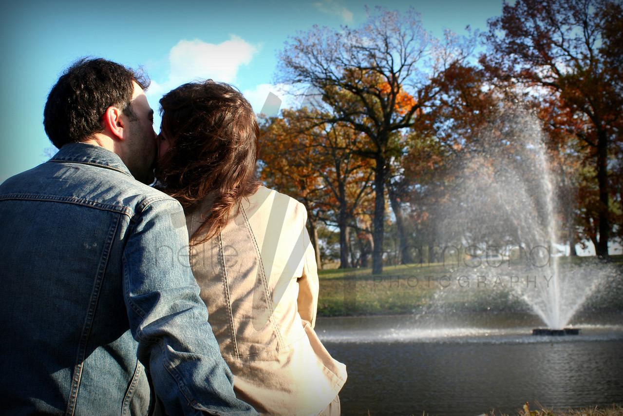 kiss fountain