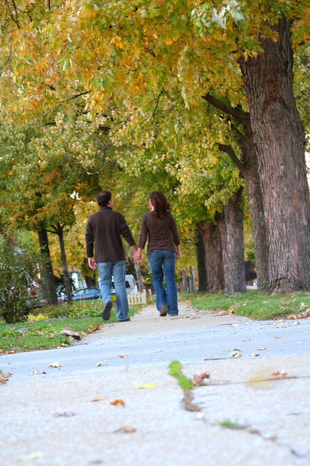 walking trees crisp