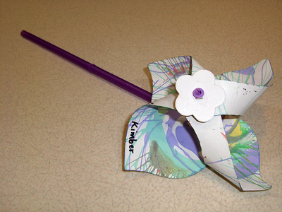 And look, it's the pinwheel again.