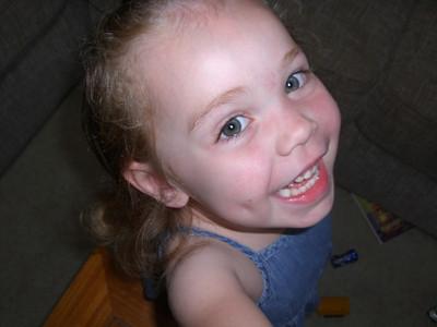 Smiling girl!