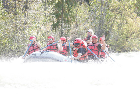 Rafting the Tieton river...