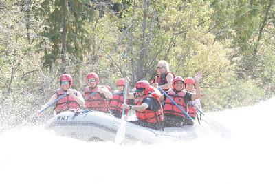 Rafting the Tieton river...