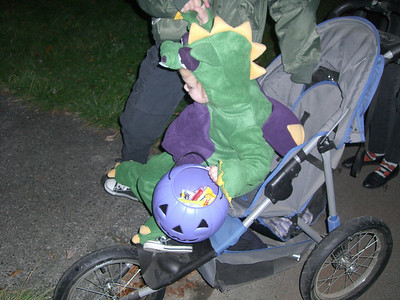 The stroller was a life saver for daddy this year (no carrying).