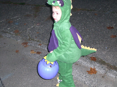 Trick-or-treating.