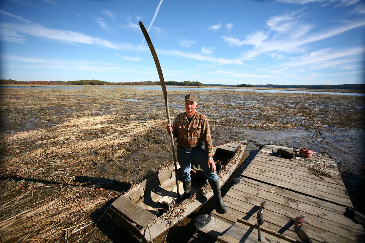 Al Hall has been hunting Merrymeeting Bay for over six decades, starting out with his father in the 1940's.