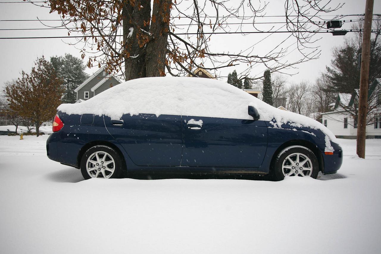 Snow this is Prius, Prius this is snow.