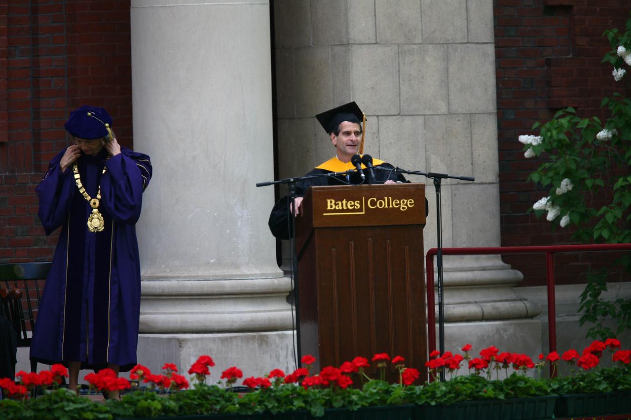 "Dean Kamen took an honorary degree- very cool speech.<br /> <br /> <a href=""http://en.wikipedia.org/wiki/Dean_Kamen"">http://en.wikipedia.org/wiki/Dean_Kamen</a>"