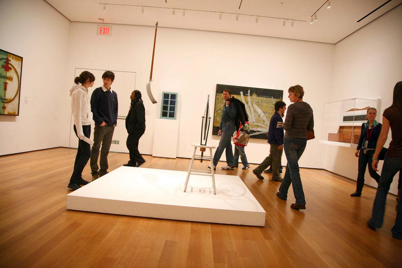 As that Thad would have said, Duchamp, Duchamp,...Duchamp.