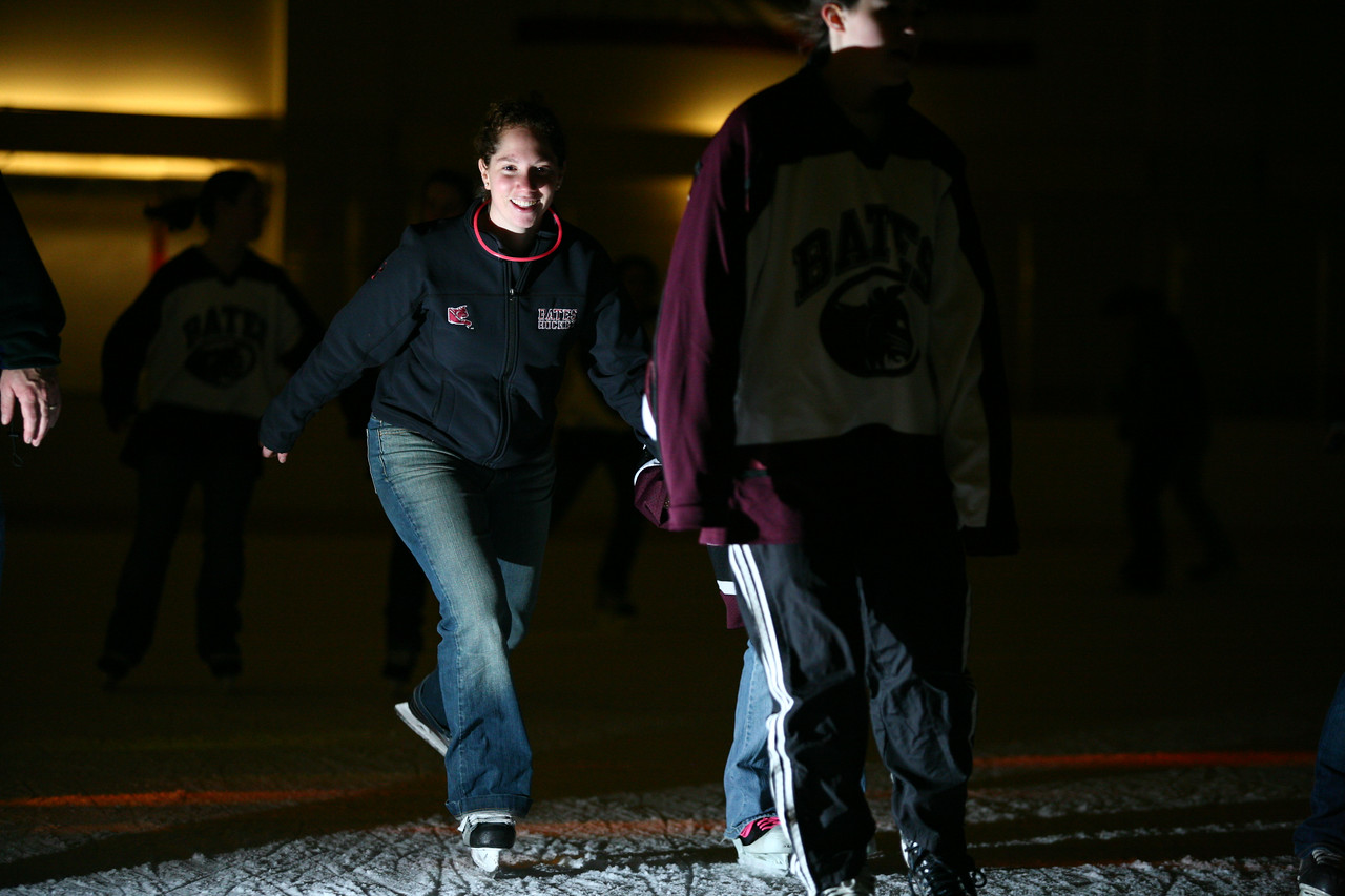 The Dance skate at night
