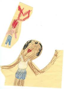 Crayon people. 3.21.2008