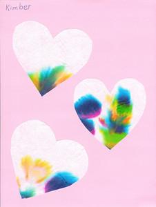 Died valentine hearts. 2.14.2008
