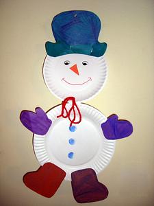 Snowman. Jan 2008