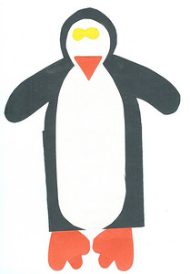 Penguin that stands up. 1.22.2008