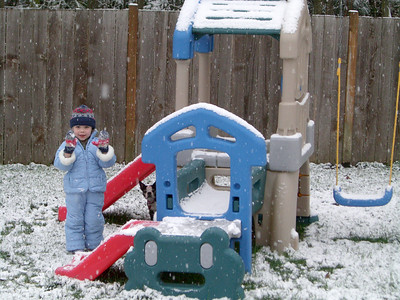 Only a few inches of snow, but for Seattle...a snow day!