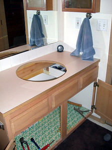Ready to put in the nice, new, shiny sink I just bought at Lowe's. :)