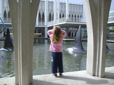 Contemplating life (at the Pacific Science Center).