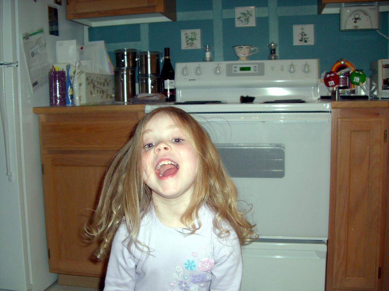 She's crazy!