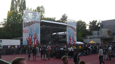 The main stage before The Black Keys.