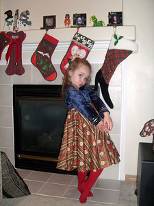 Stockings by Grandmama Carol. Pose taught by Whitney. :)
