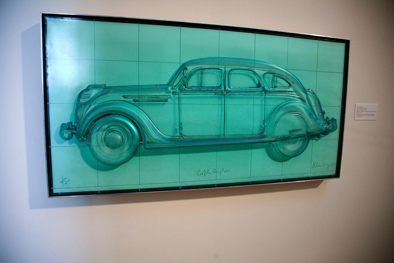 A funny Claus Oldenburg exhibit