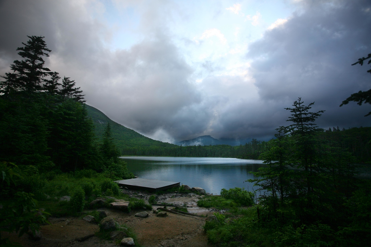 Lonesome Lake itself (sorry if it's a bit much PP)