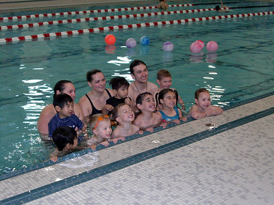 Class photo. Swim lessons - week 6 (final class)