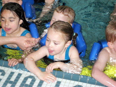 Swim lessons - week 6 (final class)