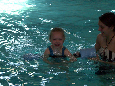 Swim lessons - week 5