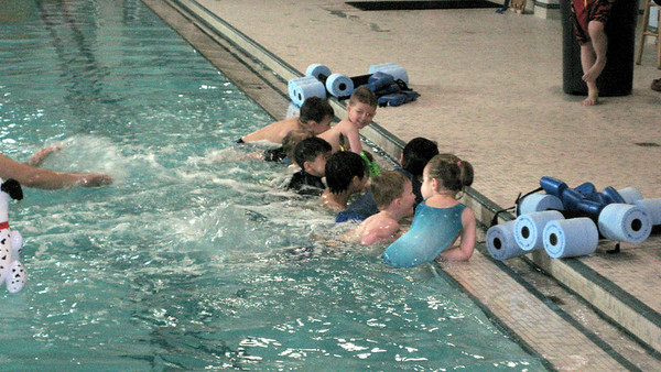Swim lessons - week 1
