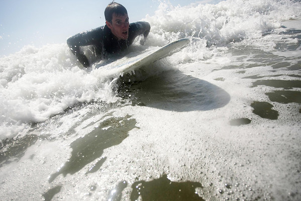 Surfing and a play