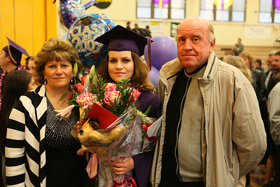 Anna with parents
