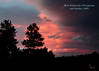 Beautiful sunset at Alphabet Ranch!