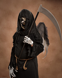 Grim Reaper Mykol with Scythe.