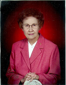 Spring 2009 - Grandma Webb's church directory picture. Can you believe she's 92?