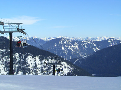 2.21.2009 - Top of Skyline at Stevens Pass.
