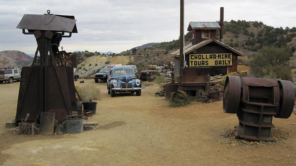 2009.10 - Tahoe. Virginia City. Chollar Mine.