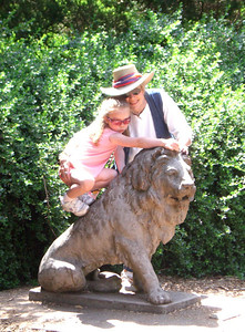 Zoo trip with Grandmama Carol, Papa Ben, Whitney, Kimber and I (June '09).
