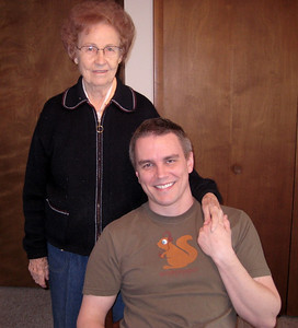 March 2009 - Visiting Grandma in Illinois.