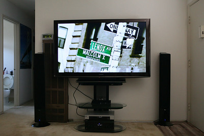 TV from the front