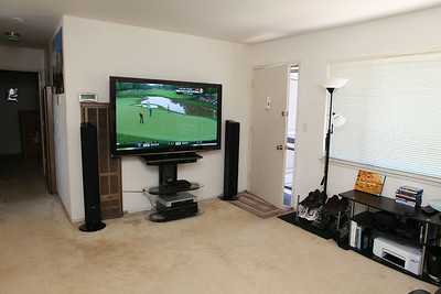 TV with golf