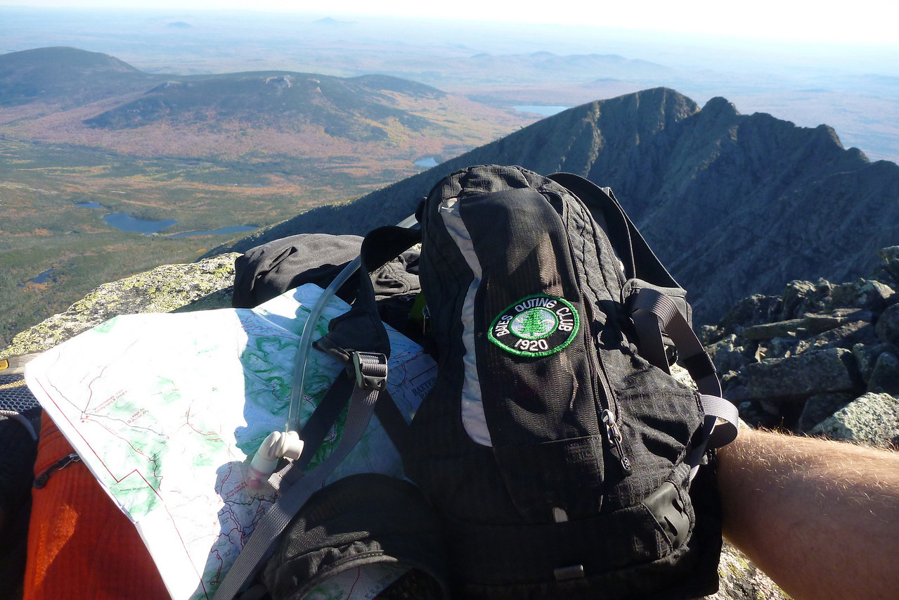 Went on a bomber Katahdin day and finally got to do the knife edge.