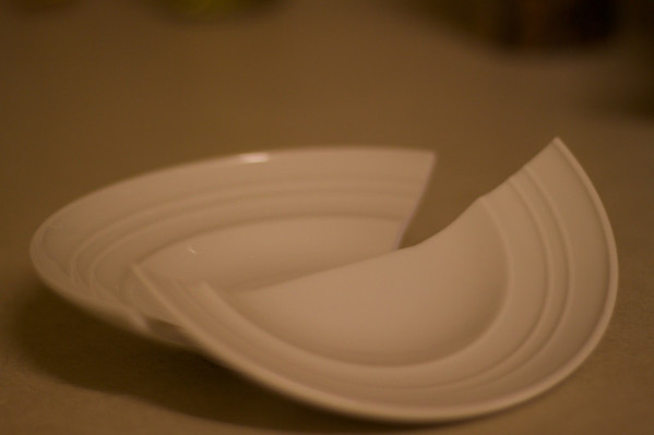 I broke my little dish.  It demanded a picture.